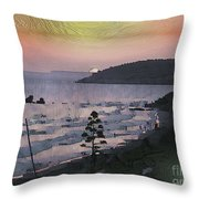 San Adeodato Sunset Throw Pillow