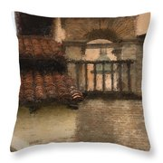 San Antonio Bell II Throw Pillow
