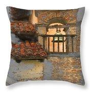San Antonio Bell Throw Pillow