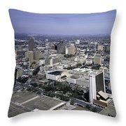 San Antonio Texas Skyline Throw Pillow