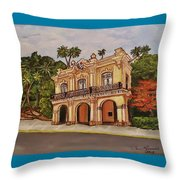 San Carlos Institute Throw Pillow
