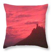 San Carlos Sunset Throw Pillow