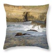 San Diego 10 Throw Pillow