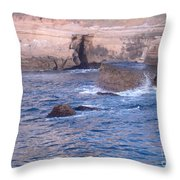 San Diego 11 Throw Pillow