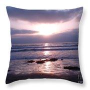 San Diego 5 Throw Pillow