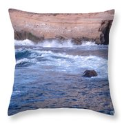 San Diego 9 Throw Pillow
