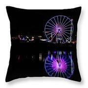 San Diego Fair Throw Pillow