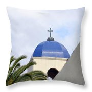 San Diego Oldtown Throw Pillow