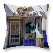 Small Business Dream Throw Pillow