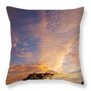 San Diego Sunsrise 1 7/12/15 Throw Pillow