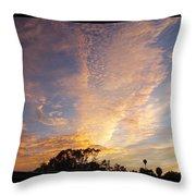 San Diego Sunsrise 3 7/12/15 Throw Pillow