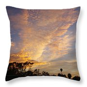 San Diego Sunsrise 4 7/12/15 Throw Pillow