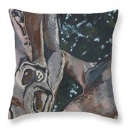 San Diego Zoo Throw Pillow