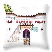 San Felice Circeo School Throw Pillow