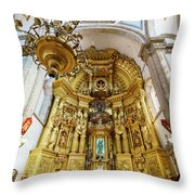 San Felipe De Jesus Satelite Throw Pillow