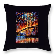 San Francisco - Golden Gate Throw Pillow
