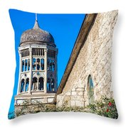 San Francisco Church Throw Pillow