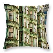 San Francisco Color Throw Pillow