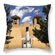 San Francisco De Asis Throw Pillow
