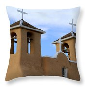 San Francisco De Asis Mission Bell Towers Throw Pillow