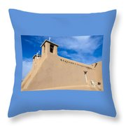 San Francisco De Assisi Church Throw Pillow