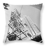 San Francisco Embacadero 2 Throw Pillow