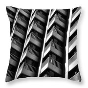 San Francisco  Financial District Throw Pillow