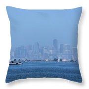 San Francisco From Alameda Throw Pillow