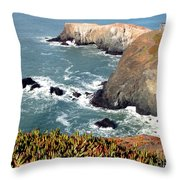 Marin Headlands Bunker Throw Pillow