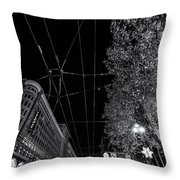 San Francisco In Motion Throw Pillow