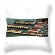 San Francisco International Arts Festival At Fort Mason Center In San Francisco Throw Pillow