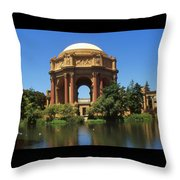 San Francisco - Palace Of Fine Arts Throw Pillow