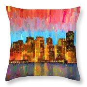San Francisco Skyline 11 - Pa Throw Pillow