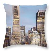 San Francisco Skyline 2 Throw Pillow