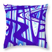 San Francisco Window One Throw Pillow