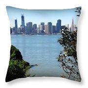San Franciso Throw Pillow