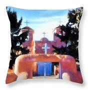 San Fransisco De Asis Throw Pillow