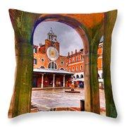 San Giacomo Throw Pillow