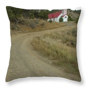 San Iglesia Church Throw Pillow