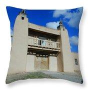 San Jose De Gracia Number 1 Throw Pillow