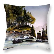 San Josef Bay Throw Pillow