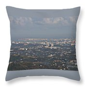 San Juan City Throw Pillow