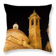 San Lorenzo Chruch Florence Italy Throw Pillow
