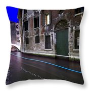 San Marco By Nightt Throw Pillow