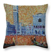 San Marco Throw Pillow
