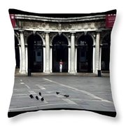 San Marco Venice Throw Pillow
