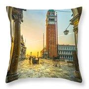 San Marco - Venice - Italy  Throw Pillow
