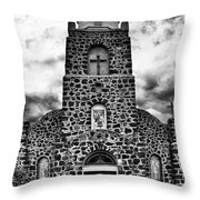 San Miguel, San Miguel, New Mexico, July 2, 2016 Throw Pillow