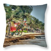 San Pedro Windy Day Throw Pillow