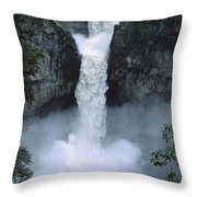 San Rafael Falls  Throw Pillow